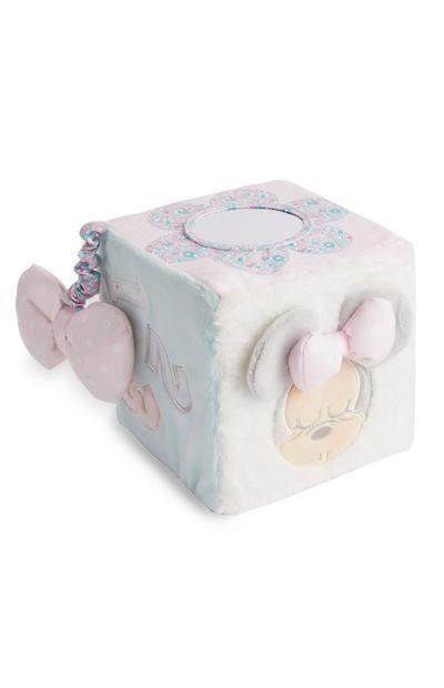 Cube en peluche Disney Minnie Mouse bébé
