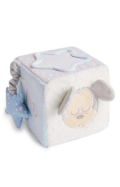 Cube peluche Disney Mickey Mouse bébé