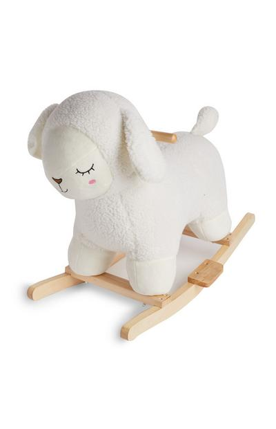 Baby Plush Sheep Rocker Seat
