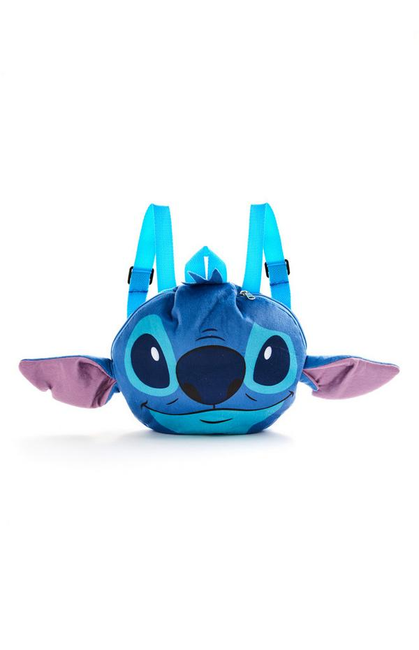 Blue Disney Lilo And Stitch Travel Backpack