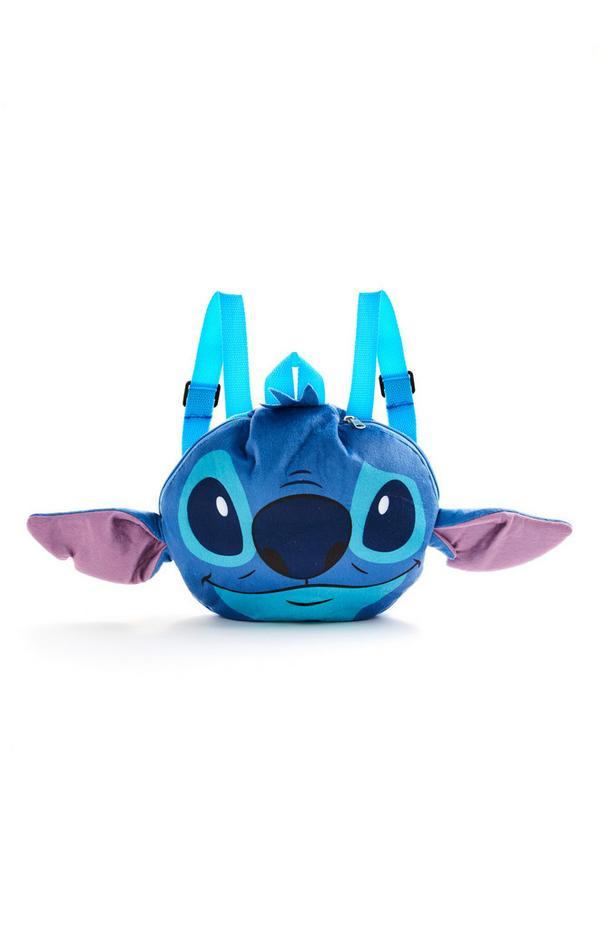 Sac à dos de voyage bleu Disney Lilo et Stitch