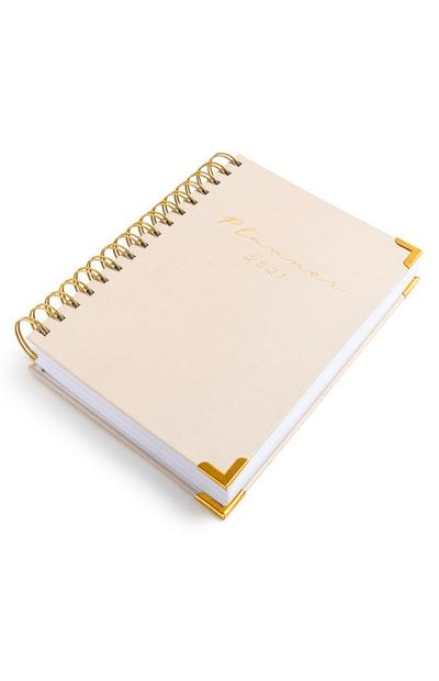 Pale Pink 2021 A5 Planner