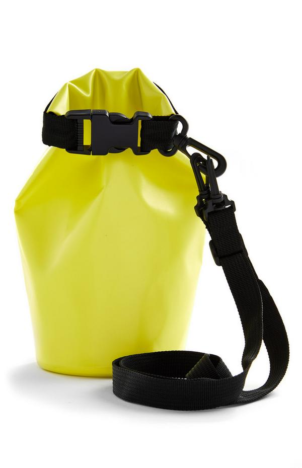 Gelbe Outdoor-Trockentasche