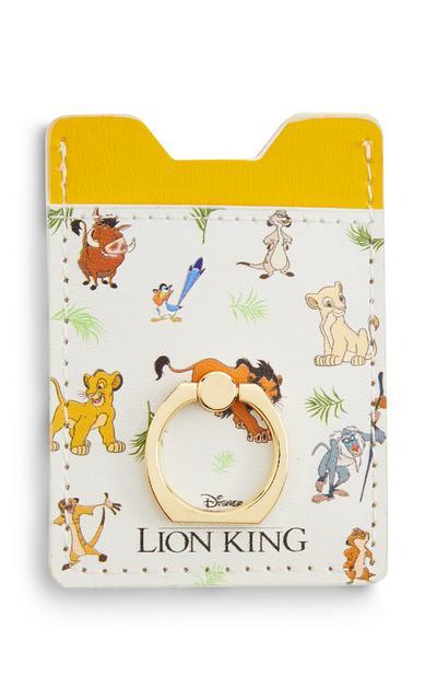 """Gelbes """"Disney König der Löwen"""" Kartenetui"""
