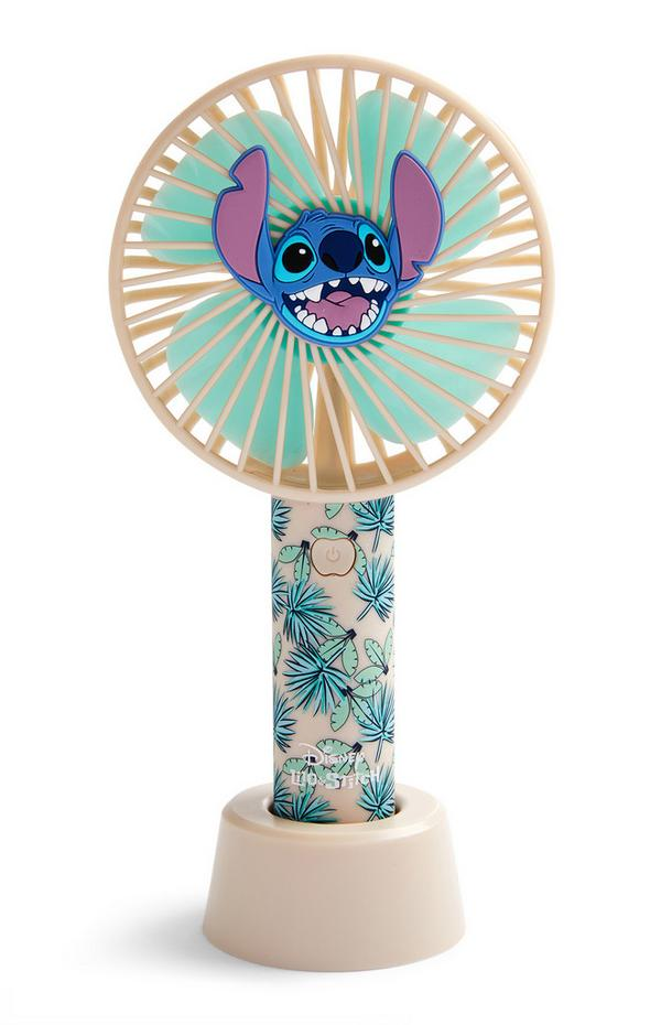 Ventilateur manuel Disney Lilo et Stitch Aloha
