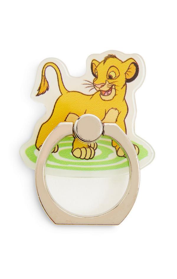 Anel telefone Disney O Rei Leão Simba