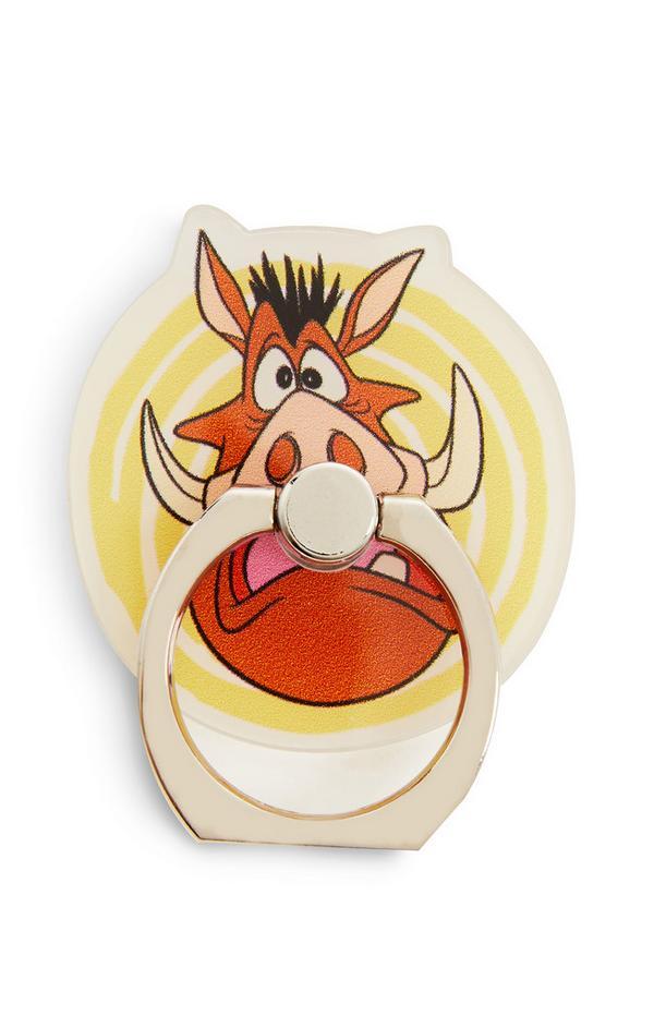 Anel telefone Disney O Rei Leão Pumba