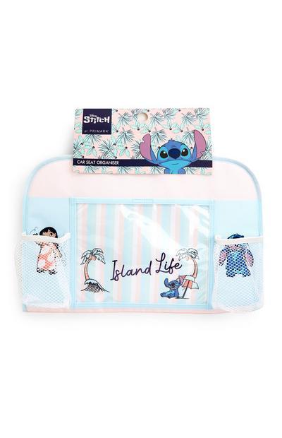 Blue Disney Lilo And Stitch Car Organiser