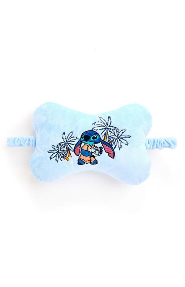 Appuie-tête bleu pour voiture Disney Lilo et Stitch