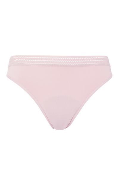 Mini culotte menstruelle rose