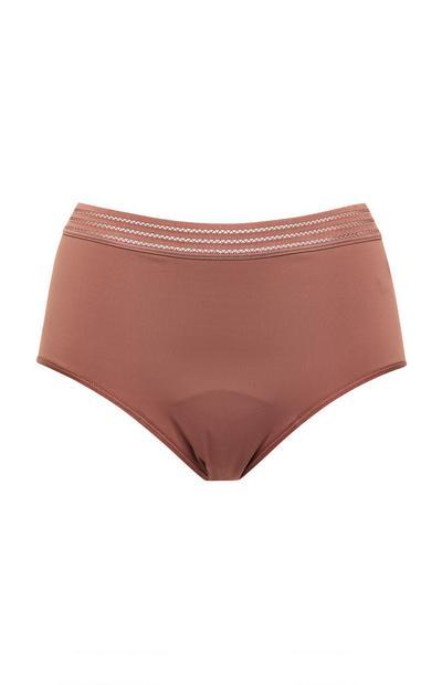 Blush Pink Period Midi Briefs