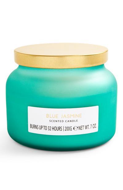 Geurkaars in pot Blue Jasmine