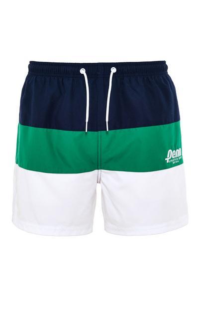 Pantalón corto con bloques de color y cordón de ajuste de Penn Sport