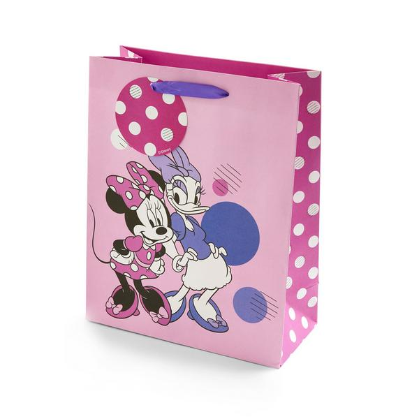 Pink Disney Minnie And Daisy GIft Bag
