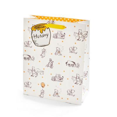 Ivory Winnie The Pooh Gift Bag
