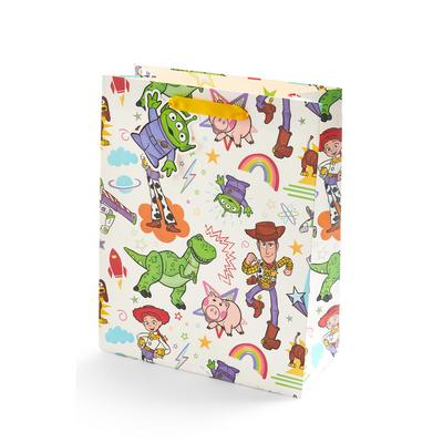 Ivory Toy Story Print Gift Bag
