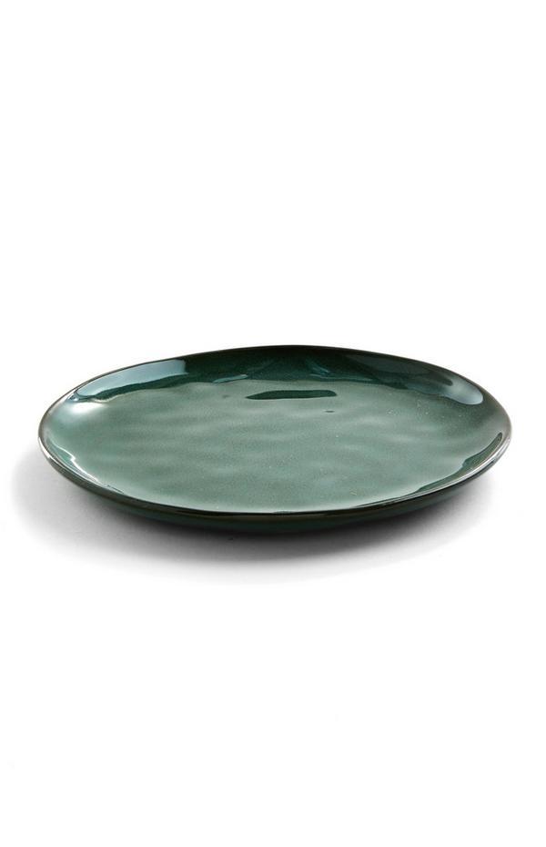 Piatto verde scuro medio