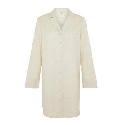 Cream Cotton Nightshirt