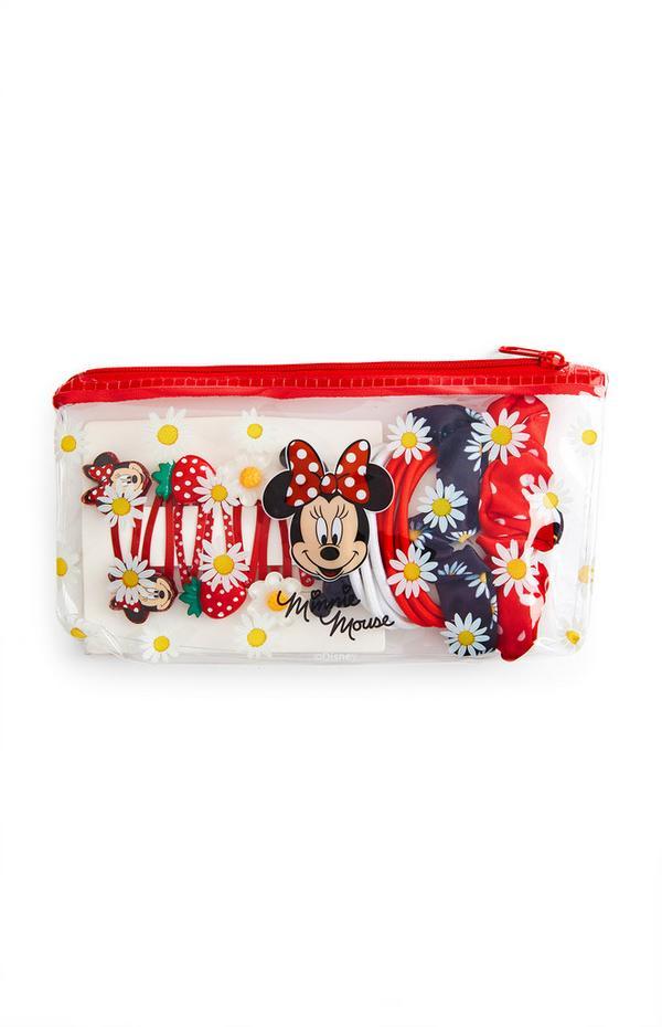 Disney Minnie Mouse Hair Set Case