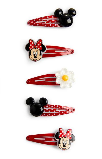 Horquillas rojas de Minnie Mouse de Disney