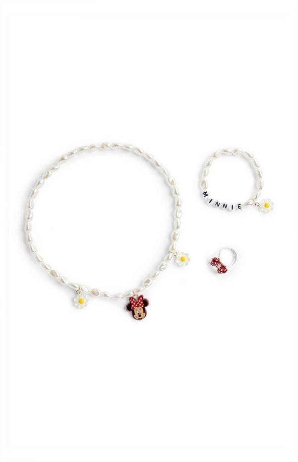Disney Minnie Mouse Jewellery Set 3 Piece