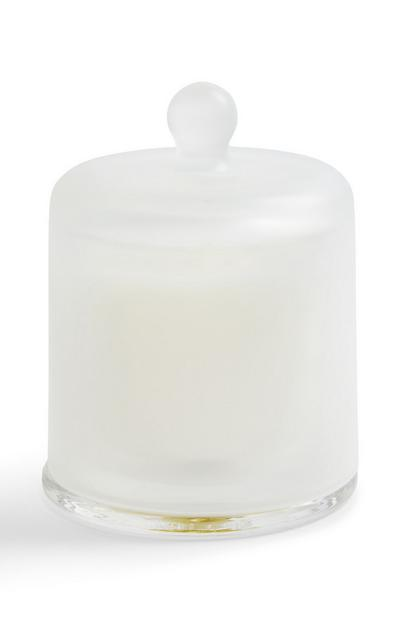 White Mood Bell Jar Candle