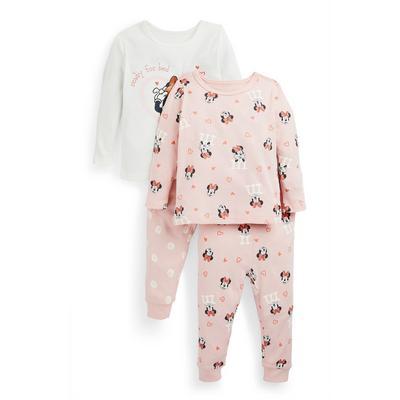 Baby Girl Disney Minnie Mouse Pajamas 2-Pack