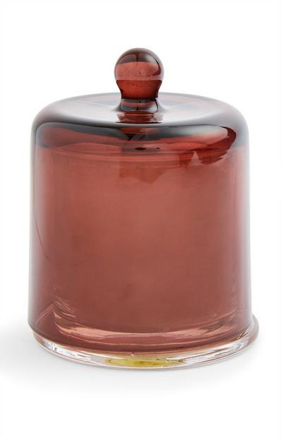 Vela frasco campânula Mood vermelho
