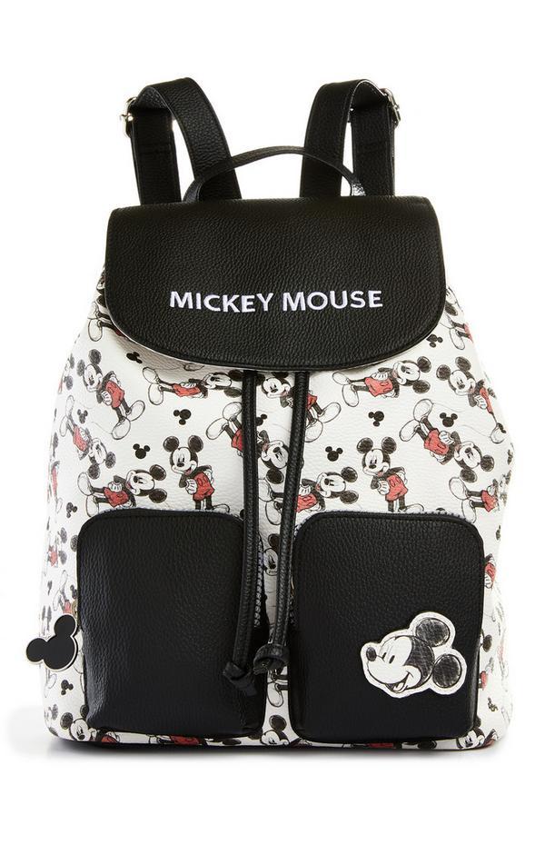 Mochila con cierre de cordón del Mickey Mouse clásico de Disney
