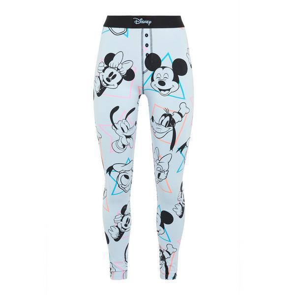 Leggings blu amici Disney