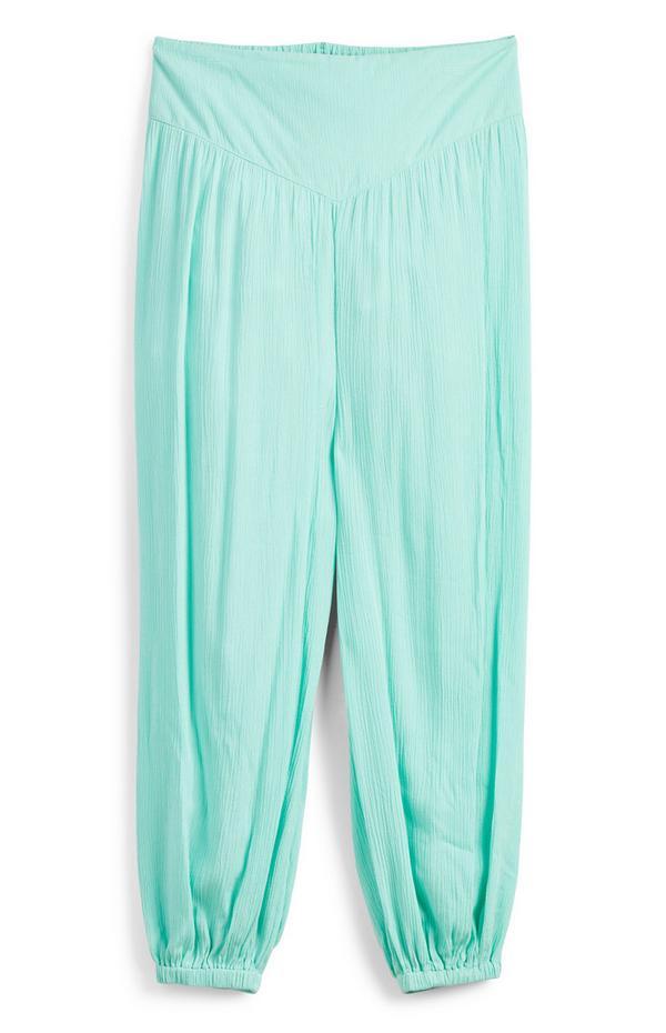 Older Girl Turquoise Hareem Pants