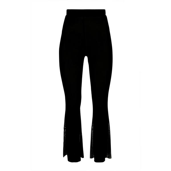 Pantalón negro de malla