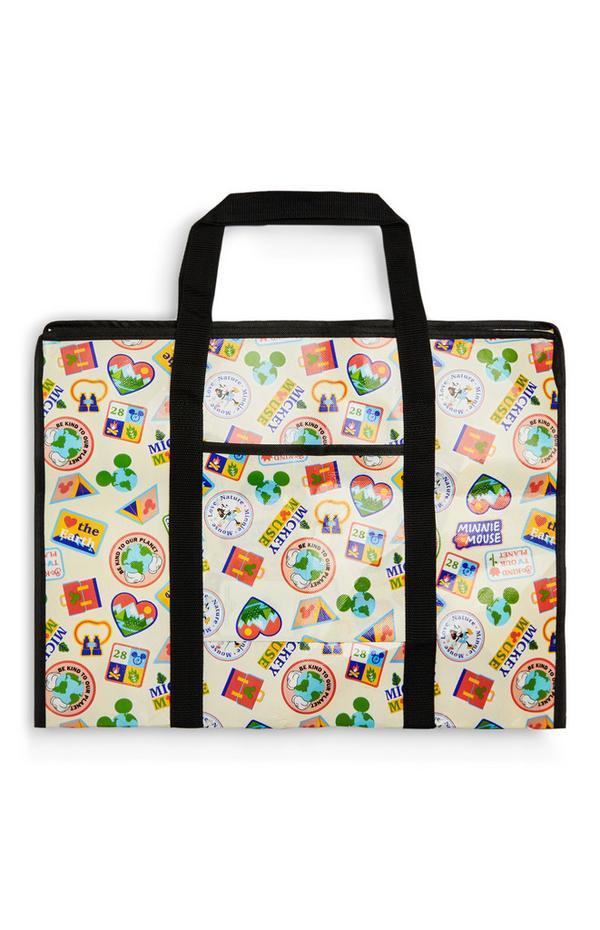 Disney Mickey Mouse Love Earth Storage Bag
