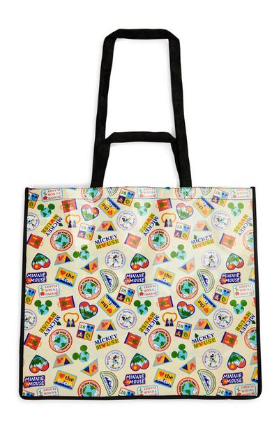 Borsa shopper extra large Love Earth Topolino Disney
