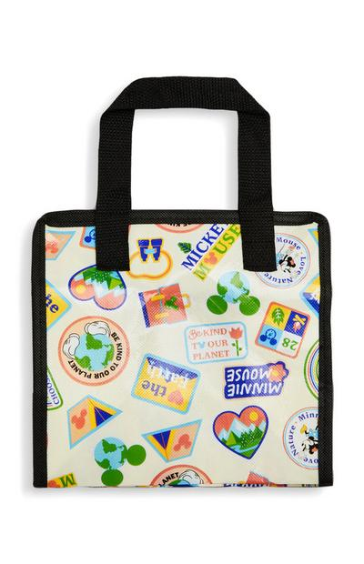 Borsa porta pranzo Love Earth Topolino Disney