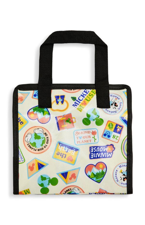 Bolsa de almuerzo «Love Earth» de Mickey Mouse de Disney