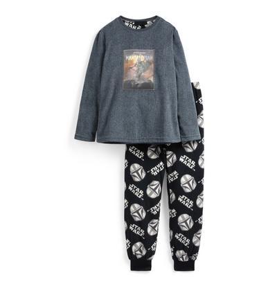 Pyjama en polaire Mandalorien ado
