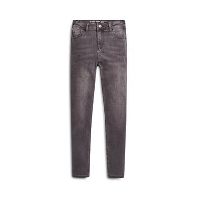 Older Boy Grey Denim Skinny Jeans