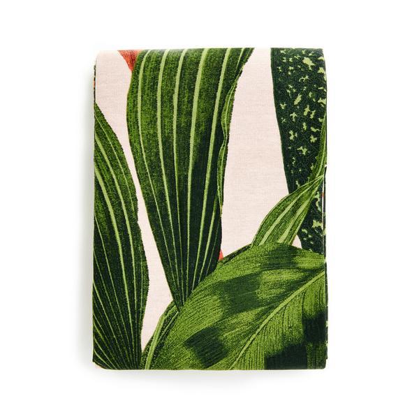 Nappe à imprimé feuilles