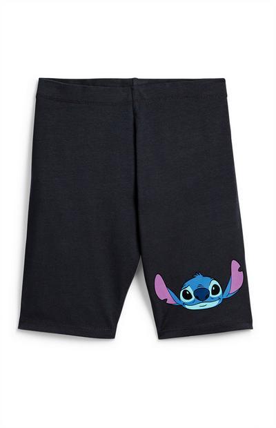 Črne kratke hlače Lili in Žverca za starejša dekleta