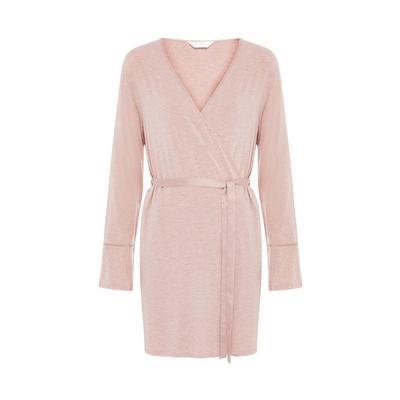 Pink Heather Modal Robe