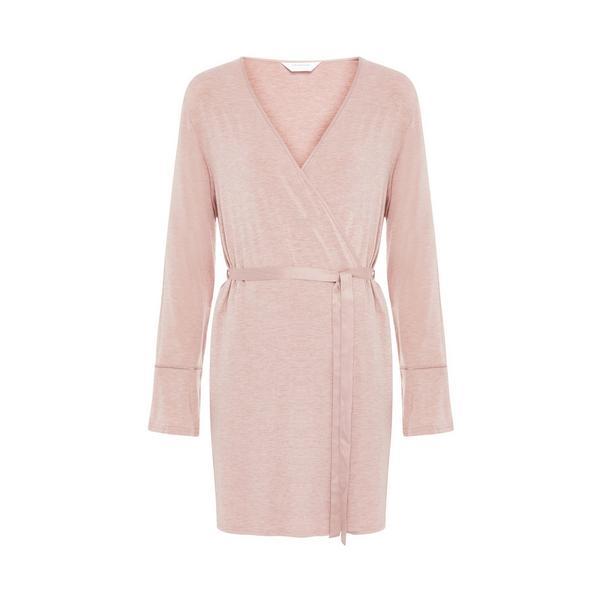 Pink Marl Modal Robe