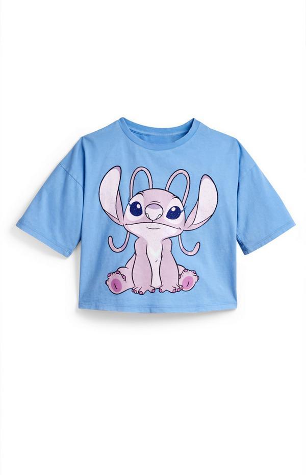 Blauw T-shirt Lilo & Stitch Angel voor meisjes