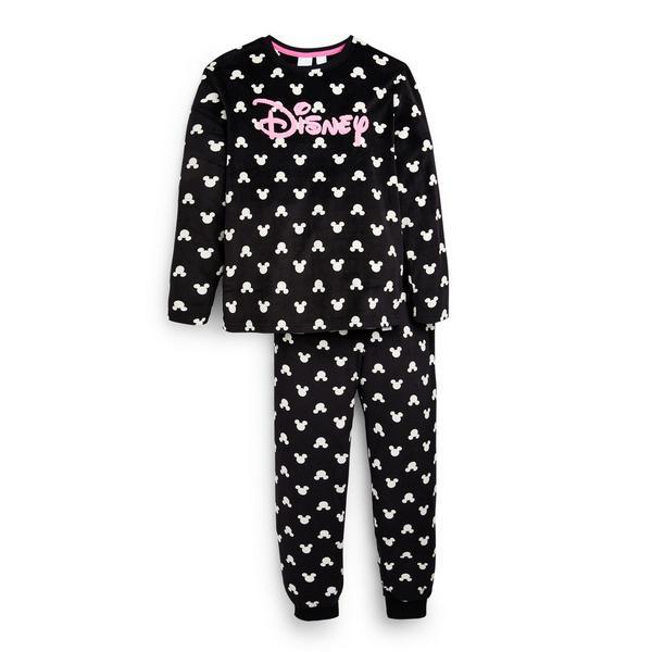 "Schwarzes ""Disney"" Pyjamaset (Teeny Girls)"