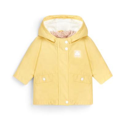 Baby Girl Yellow 3-In-1 Jacket