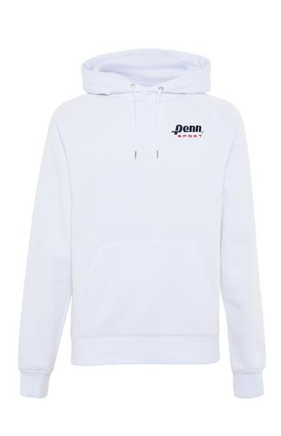 Witte hoodie Penn Sport