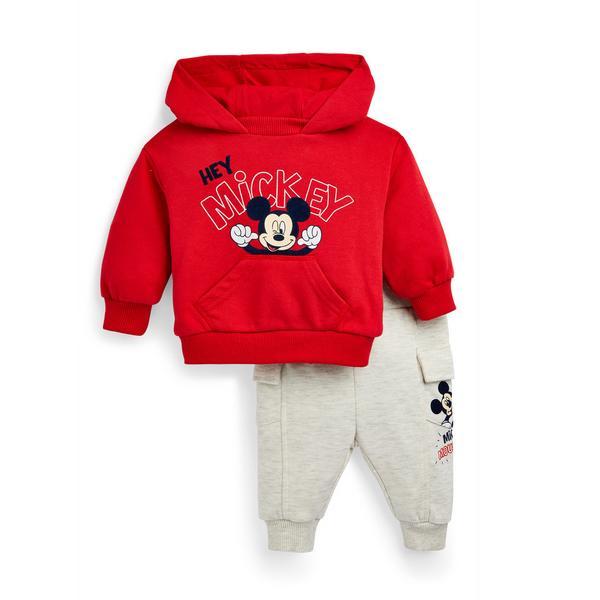 Fato 2 peças Disney Mickey Mouse menino bebé