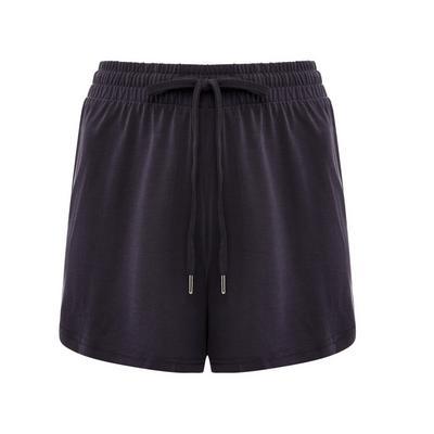 Charcoal Modal Pajama Shorts