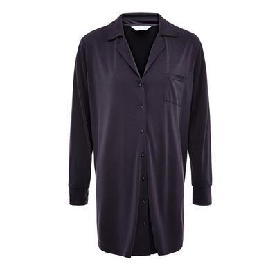Charcoal Modal Pajama Nightshirt