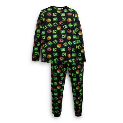 Pijama pelúcia Minecraft rapaz verde
